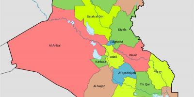 Kuwait Kort Kort Kuwait Det Vestlige Asien Asien